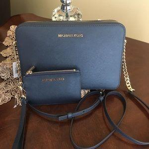 Michael Kors Large Crossbody Bag & wallet set
